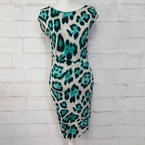 INC International Concepts Animal Print Dress M